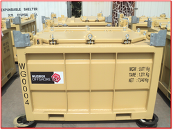 DNV 2.7-1 Approved Mud Skips and Mud Boxes