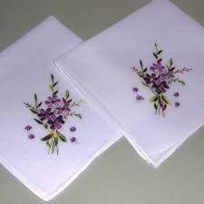 Embroidered Handkerchief
