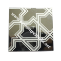 Etching Mirror Silver Stainless Steel
