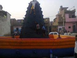 kids rock climbing bouncy