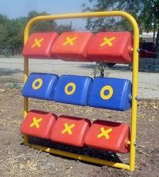 Cross and Zero Play Equipment