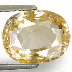5.59 Carats Yellow Sapphire
