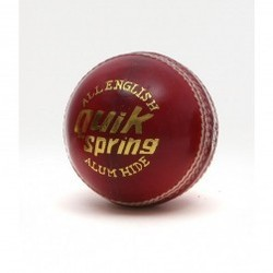 BDM Quick Spring Cricket Leather Ball