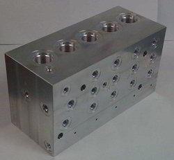 Aluminum Manifold Casting