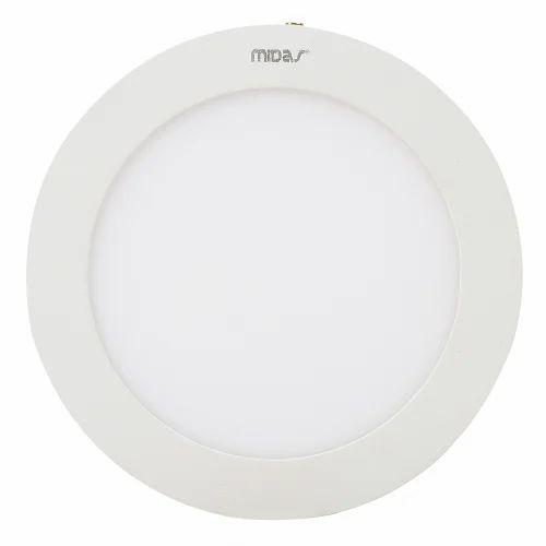 Midas Recessed LED Panel - Round - 3W