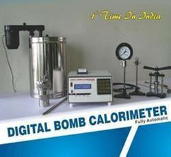 Automatic Microprocessor Based Digital Bomb Calorimeter