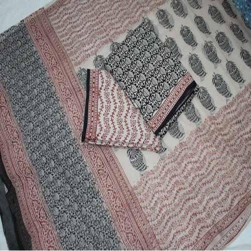 Bagru Print Cotton Suit Set
