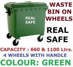 Waste Bins on Wheels