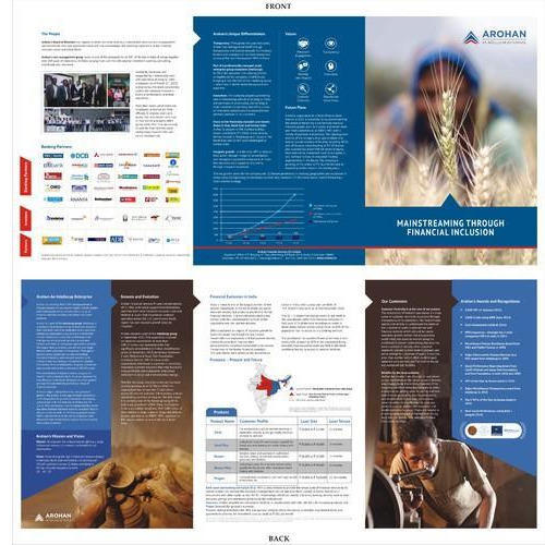 Printed Brochure Templates Brochure Templates Manufacturer From