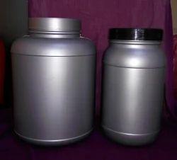 Round HDPE Plastic Jar