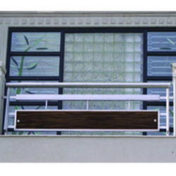 Ss balcony grill stainless steel balcony grill suppliers - Box grill designs balcony ...