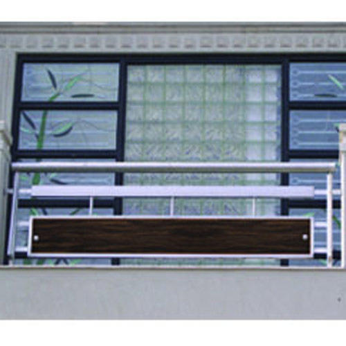 Balcony window grills casting balcony grill for Balcony models