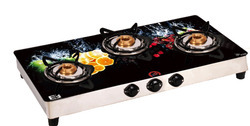 Digital Print Glass Top Gas Stove