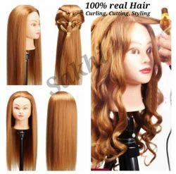 100% Real Hair Dummy