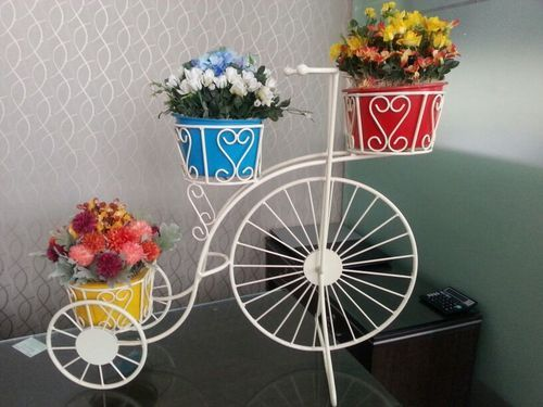 Flower Pot Stand Bicycle Flower Stand Manufacturer From