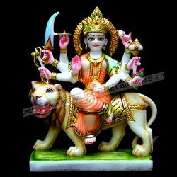 Marble Durga Maa God Statue