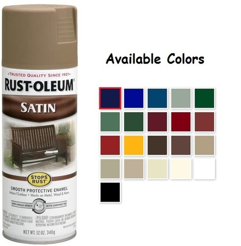 What Is The Best Rust Oleum Spray Paint For Acrylic