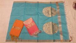 Cotton Zari Work Dupatta