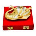 Brass Gold Plated Platter