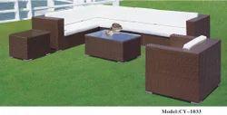 Rattan Poolside Sofa