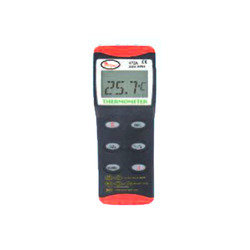 Dual Input Thermocouple Thermometer