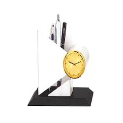 Pen Stand with Watch