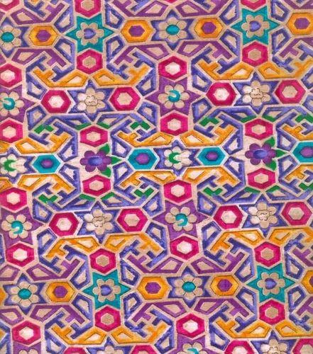 Multi Color Prints Fabric