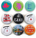 Metal Button Badges