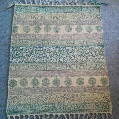 Jaipuri Hand Block Printed Cotton Rugs