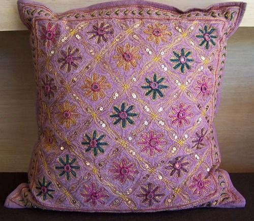 Indian Hand Embroidered Decorative Cushion Covers Cheap Decorative