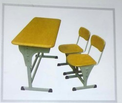 Class Room Bench and Chair - 2 Seater