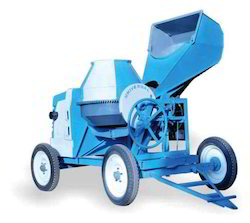 Hydraulic Concrete Mixer with Hopper  (Diesel Op)