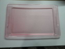 Acrylic Transparent Bajri Tray