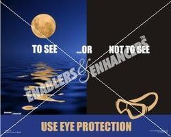 Poster on Eye Safety