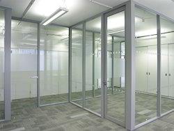 Framed Glass Partition