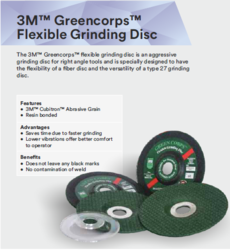 3M Greencorps Flexible Grinding Disc