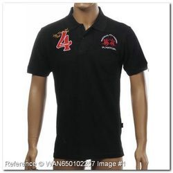 Branded Collar Polo T Shirts