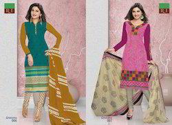 Greesma Cotton Dress Material