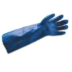 PVC Gauntlet Hand Gloves