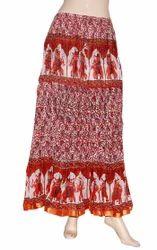 Flower Printed Skirt