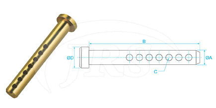 8mm Universal Clevis Pin