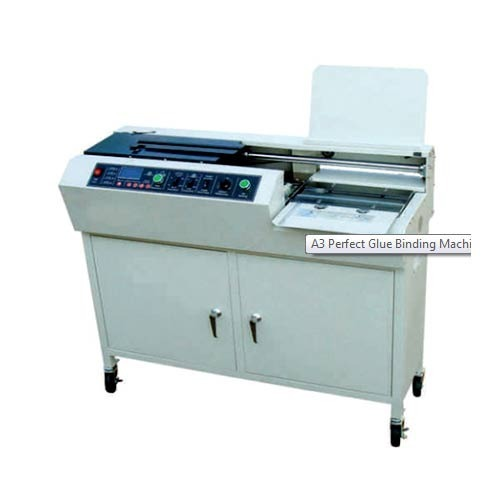 A3 Perfect Glue Binding Machines