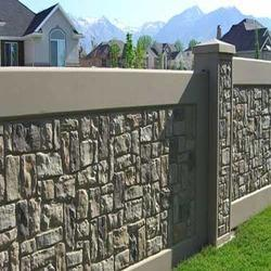 Compound Wall Building Compound Wall Manufacturer From