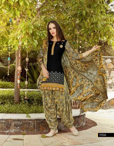Printed Patiala Suit