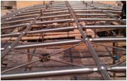 Steel Space Frame Fabrication Job Work