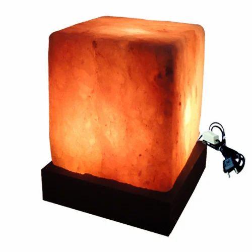Square Rock Salt Lamp at Rs 1955 /piece Rock Salt Lamps ID: 11021070912