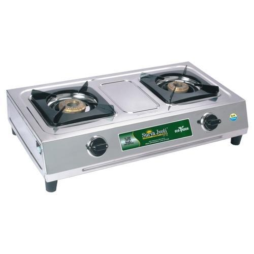 Stainless Steel LPG Gas Stoves   Two Burner LPG Gas Stove Wholesale Trader  From New Delhi