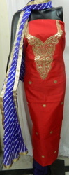 Aaditri Chanderi Fabric Suit