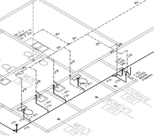 hvac isometric drawing