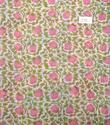 Cotton Voile Hand Block Print Fabric Natural Dyes NP171